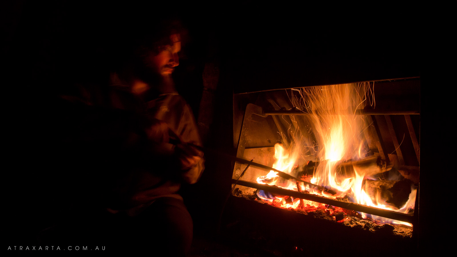 Stoking the Fire, Alpine National Park, Macalister Springs