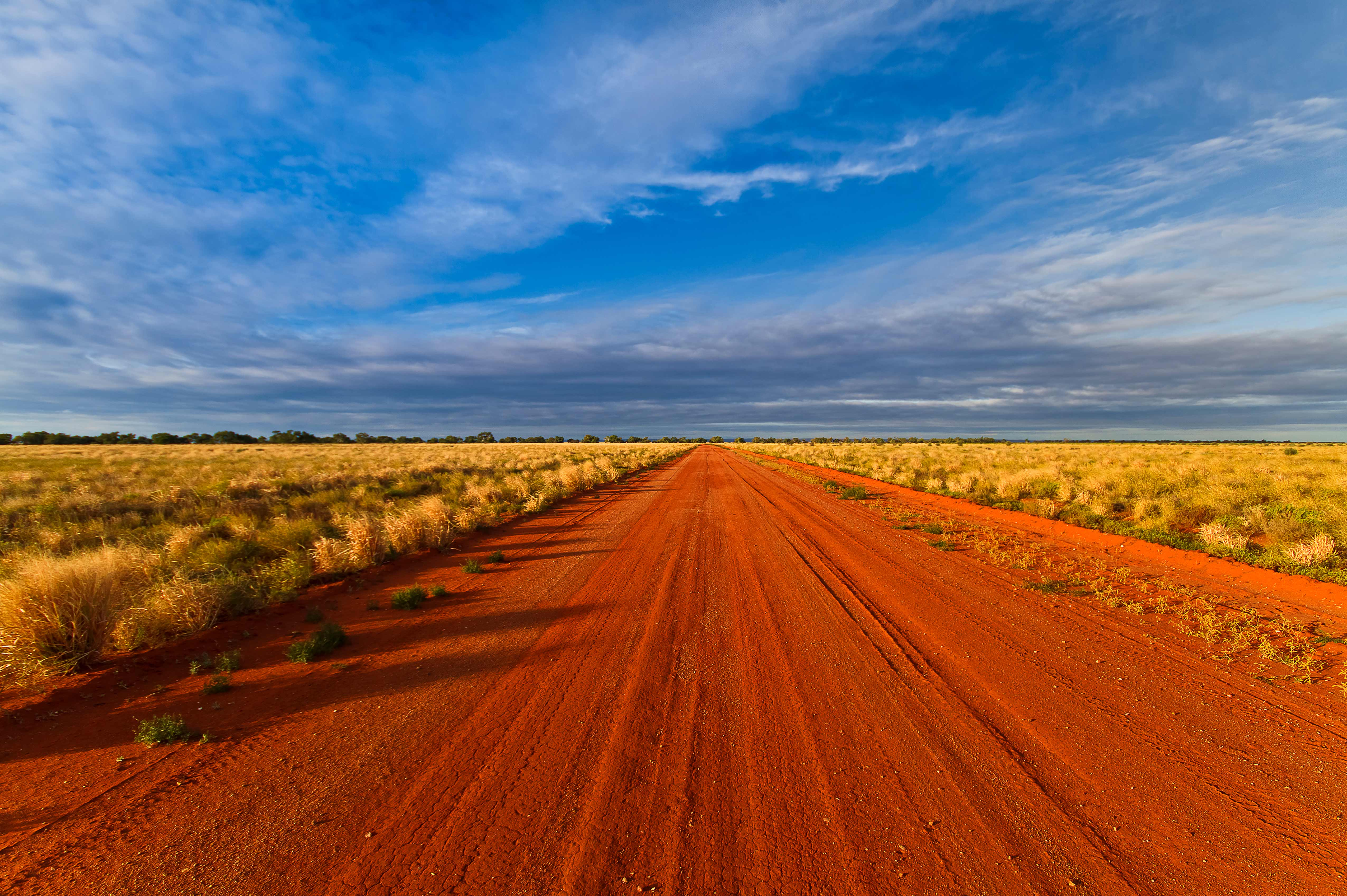 Outback Road Stock Photography, Near Mutawintji, Western NSW