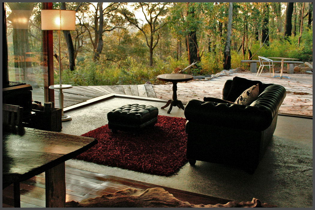 Love Cabin #1, Wollemi Cabins, Blue Mountains Australia