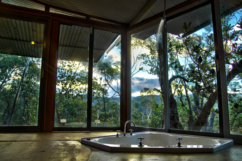 Love Tee Pee #1, Wollemi Cabins, Blue Mountains Australia