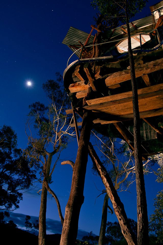 Blue Mountains Treehouse #5, Wollemi Cabins, Blue Mountains Australia