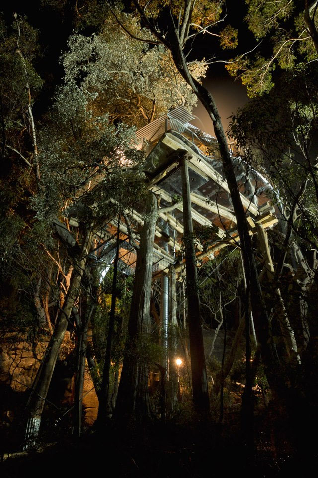Blue Mountains Treehouse #6, Wollemi Cabins, Blue Mountains Australia